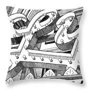 Lyric Theatre Throw Pillow