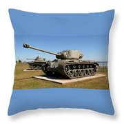 M-26 Pershing Tank Throw Pillow