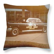 M And N Speed Shop Special Throw Pillow