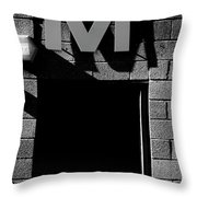M For Many Throw Pillow