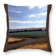 ,m Throw Pillow