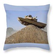 M1 Abrams Throw Pillow
