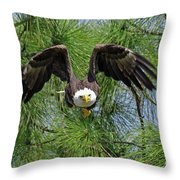 M15 Great Take Off Throw Pillow