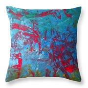 M16 Eagle Nebula  Throw Pillow