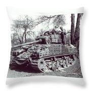 M4 Sherman Throw Pillow