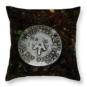 Ma At Marker Throw Pillow