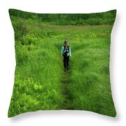 Ma At Section Hiker Throw Pillow