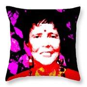 Ma Jaya Sati Bhagavati 6 Throw Pillow