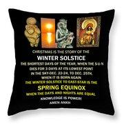 Ma Ra Solstice Throw Pillow