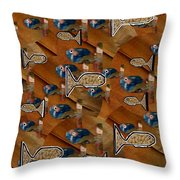 Macaroni For Dinner Throw Pillow