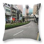 Macau Triptych 2 Throw Pillow
