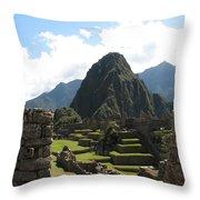 Macchu Picchu 10 Throw Pillow