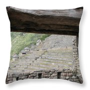 Macchu Picchu 5 Throw Pillow