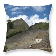 Macchu Picchu 7 Throw Pillow