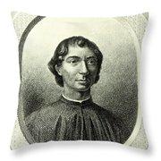 Machiavelli  Throw Pillow