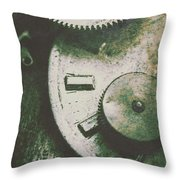 Machinery From The Industrial Age Throw Pillow