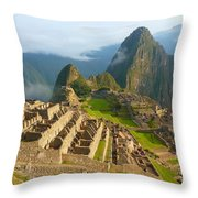 Machu-picchu  Throw Pillow