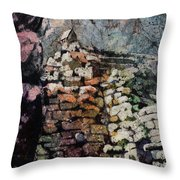 Machu Picchu Ruins- Peru Throw Pillow