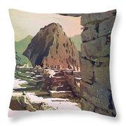 Machu Picchu Vista- Peru Throw Pillow