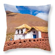 Machuca Church Throw Pillow