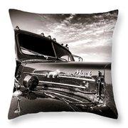 Mack B61 Ghost Throw Pillow
