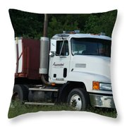 Mack Truck One Of The Legends Throw Pillow