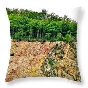 Mackenzie Mountain  Throw Pillow