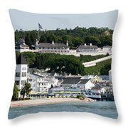 Mackinac Island Throw Pillow