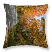 Mack's Mountain Road Throw Pillow