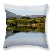 Macleod's Table In Scotland Throw Pillow