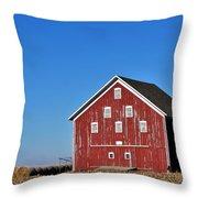 Macomb Barn Throw Pillow