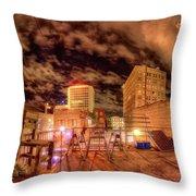 Macon' The Dream Throw Pillow