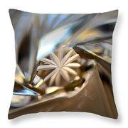 Macro Magic Throw Pillow