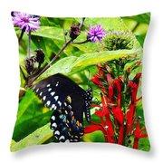 Macro Nature Throw Pillow