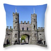 Macroom Castle Ireland Throw Pillow