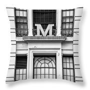 Macy's Window Throw Pillow