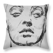 Mad Love Throw Pillow