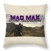 Mad Max Beyond Thunderdome Throw Pillow