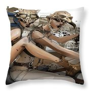 Mad Max Fury Road Throw Pillow