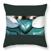 Mad Mouse Throw Pillow