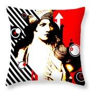 Madam Stripe Throw Pillow