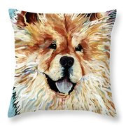 Madame Chu Cho Throw Pillow