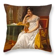 Madame Hurault De Sorbee Throw Pillow