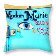 Madame Marie Throw Pillow