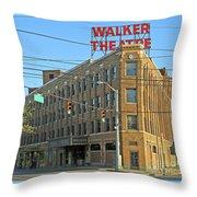 Madame Walker Theater, Indianapolis Throw Pillow