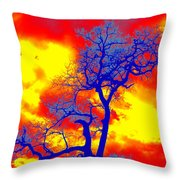 Made In Africa Throw Pillow