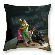 Made In China Matador Throw Pillow