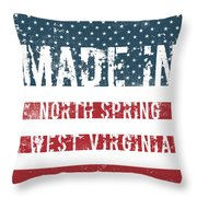 Made In North Spring, West Virginia Throw Pillow