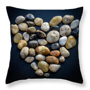 Made Of Stone Throw Pillow