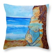 Made Of Water Throw Pillow